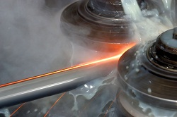 During milling, turning, grinding and boring (and other metal-cutting machining activities) metalworking fluids form a mist of small droplets.